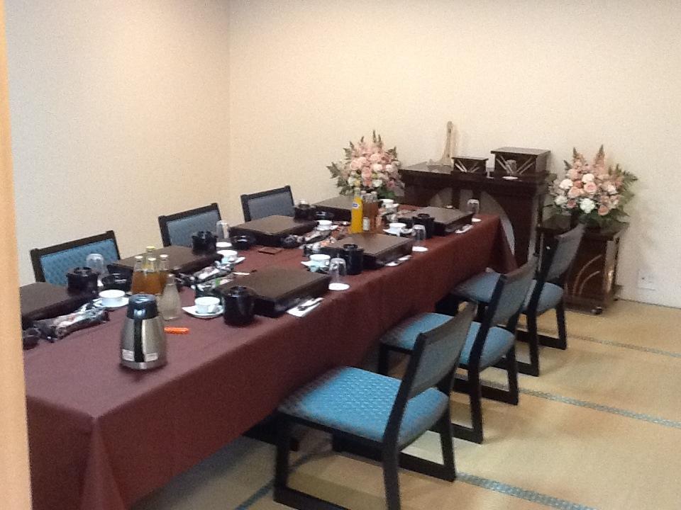 仙川斎場会食室