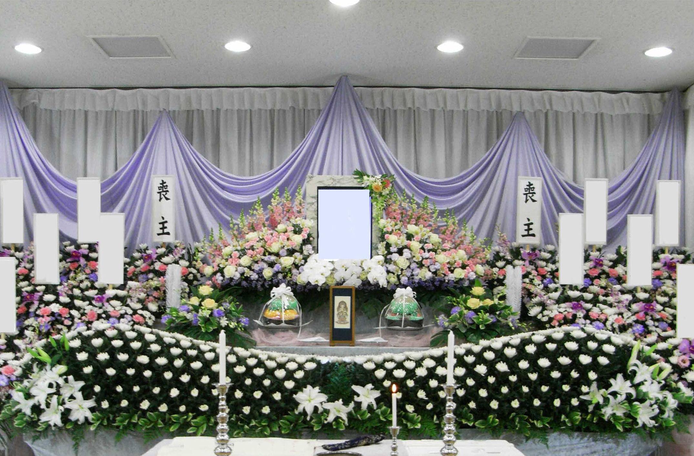 桐ヶ谷斎場花祭壇施行例