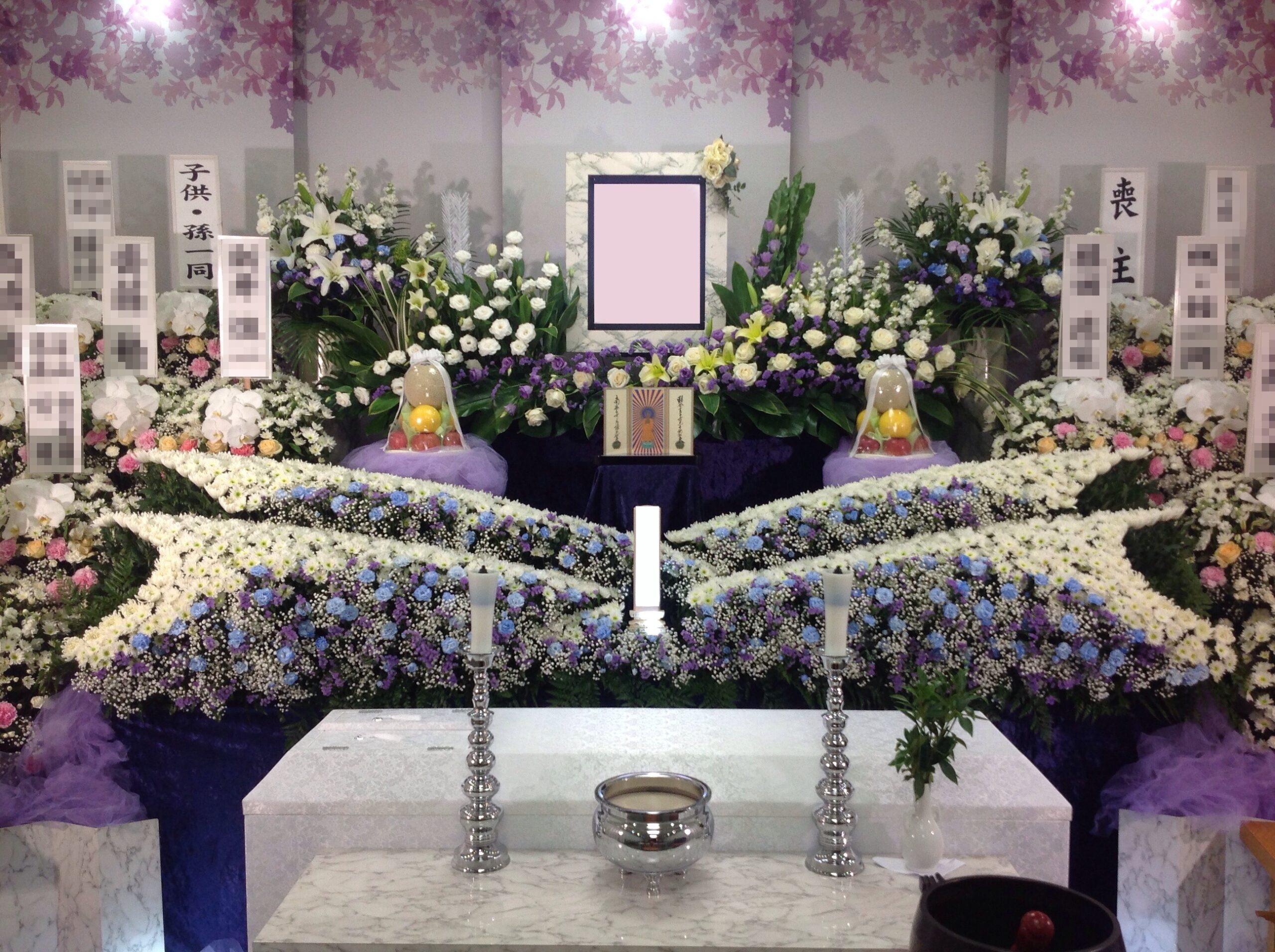 町屋斎場花祭壇施行例