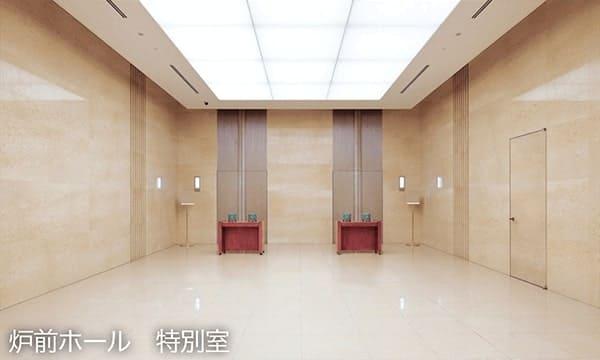 四ツ木斎場炉前ホール(特別室)
