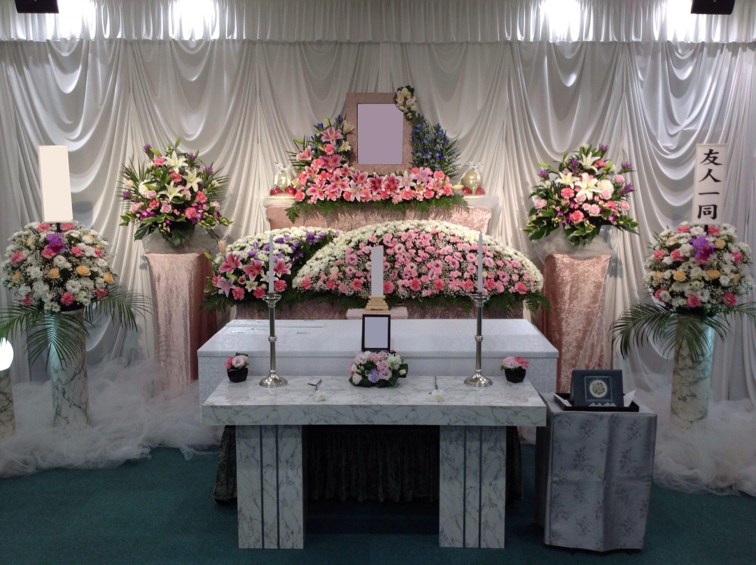 グリーンホール環七野方花祭壇施行例