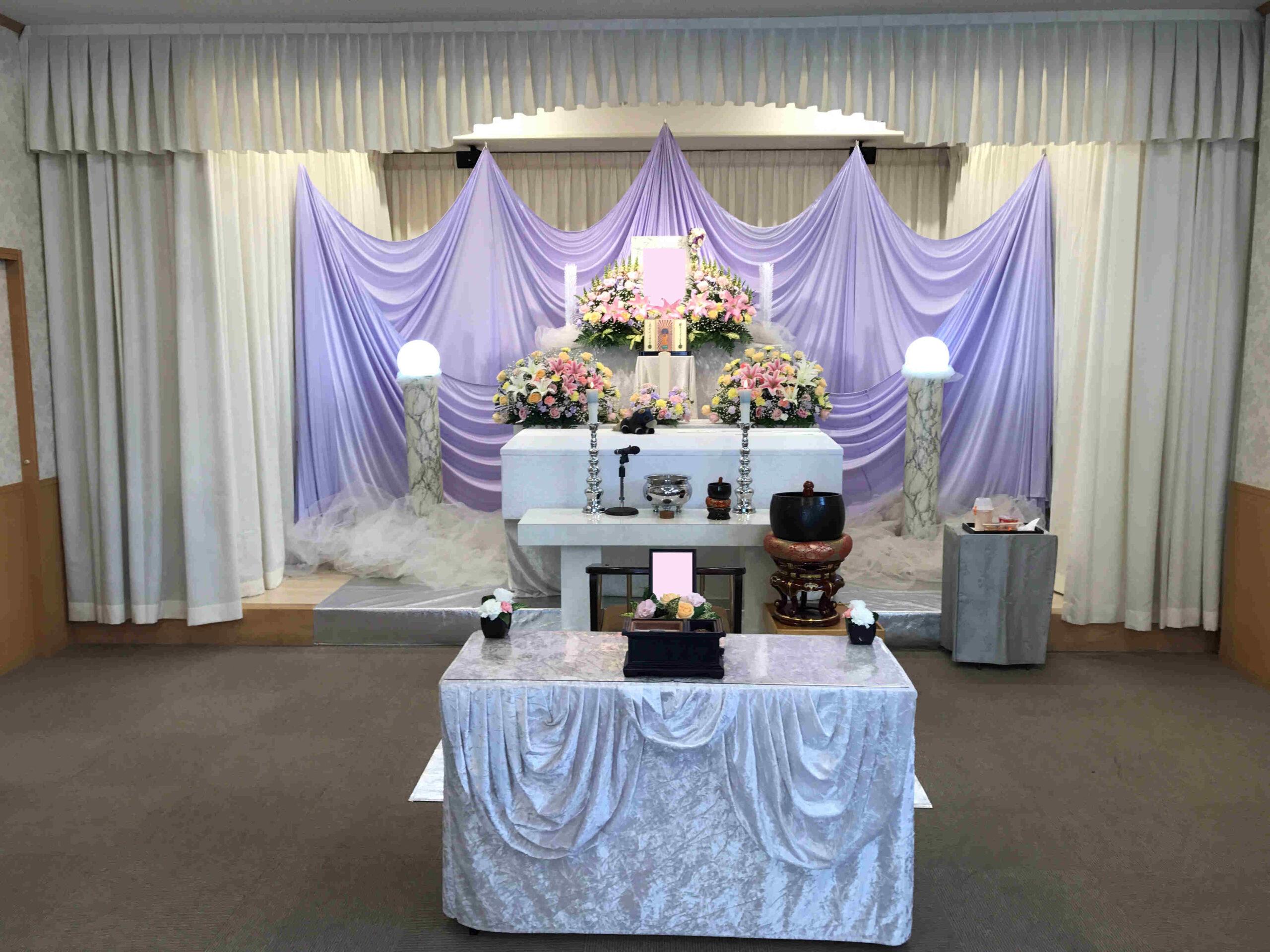 小平サポートセンター花祭壇施行例
