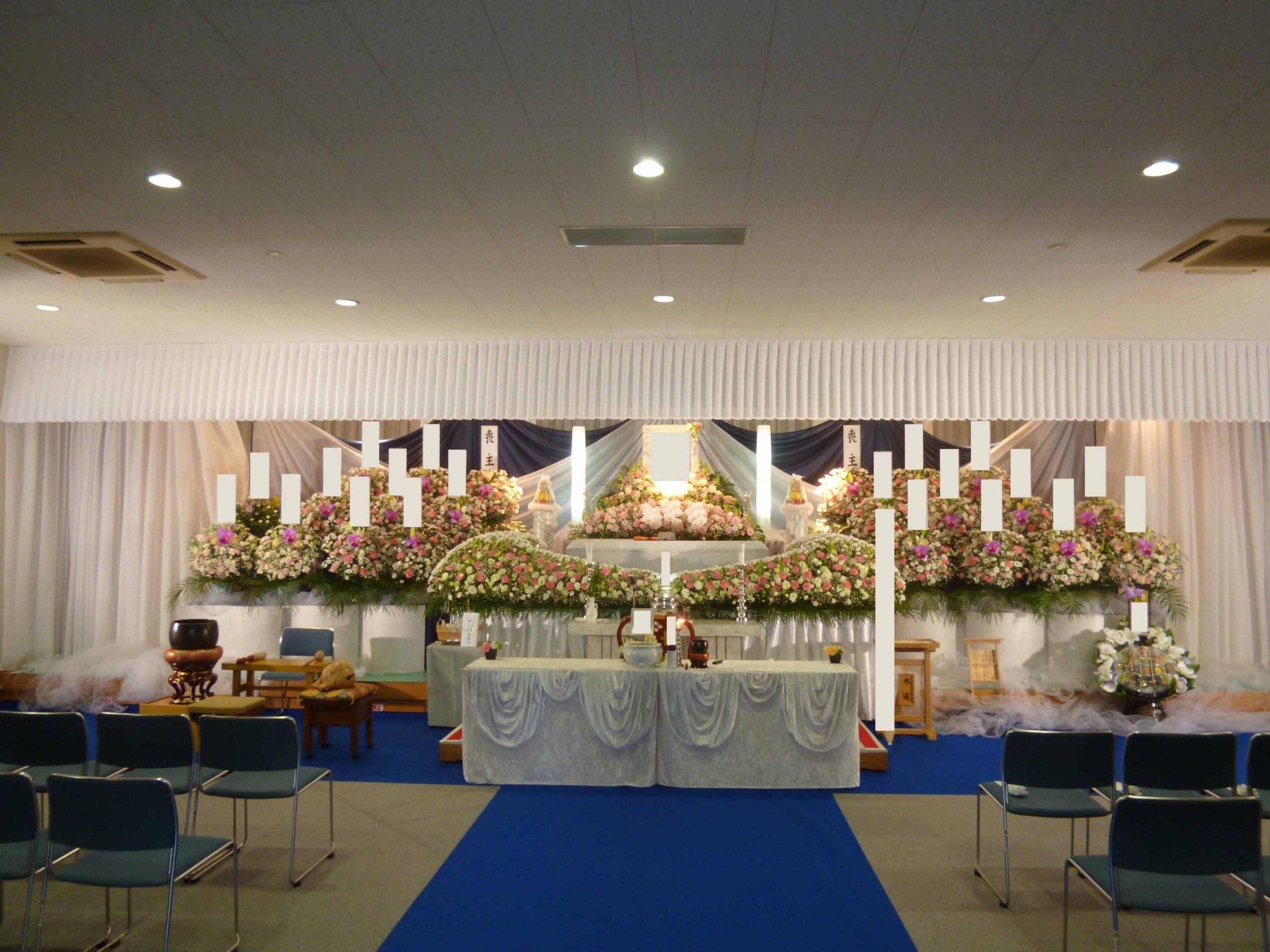 金龍寺花祭壇施行例