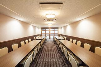 戸田葬祭場4F控室