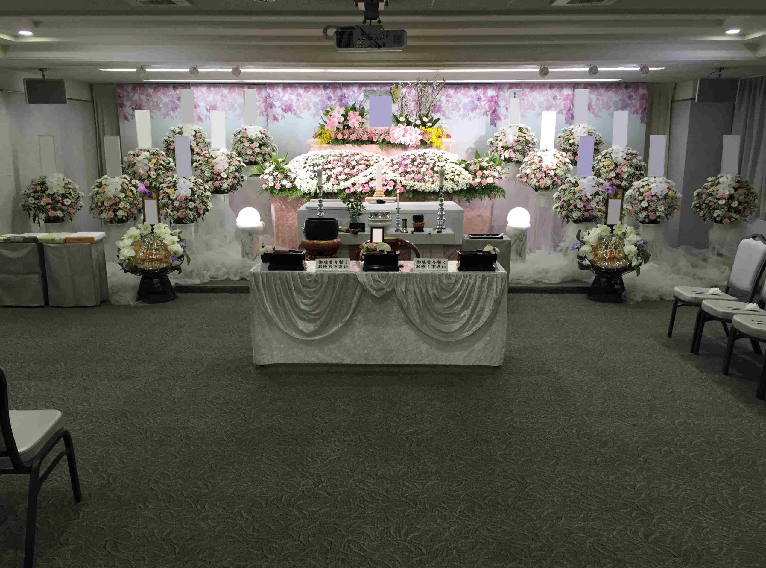 戸田葬祭場3F施行例