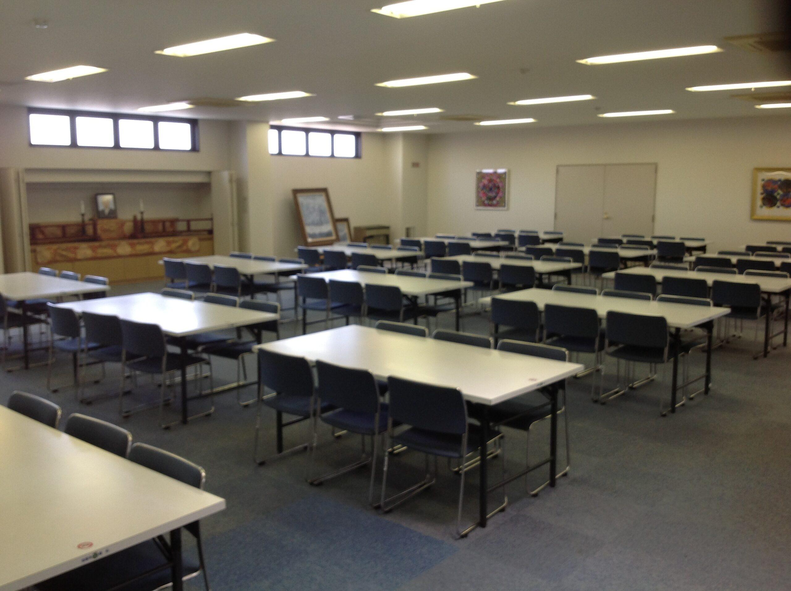 金龍寺2F会食室